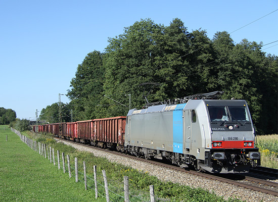 Bombardier TRAXX RAILPOOL