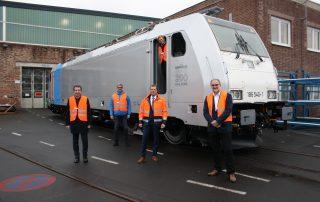 RAILPOOL Lokomotive - Handover TRAXX MS